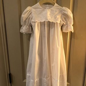 Alexis 6 mo Christening Easter Dress